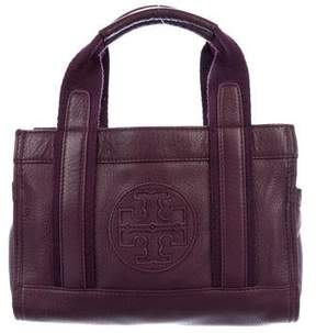 Tory Burch Leather & Canvas Satchel