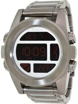 Nixon Men's Unit SS A3601263 Digital Stainless-Steel Quartz Fashion Watch