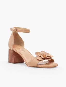 Talbots Siena Flower Sandals - Kid Suede