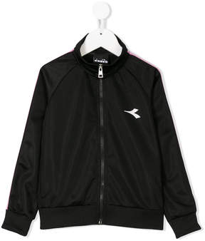 Diadora Junior logo detail track top