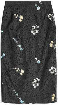 N°21 N21 Embroidered Lace Skirt