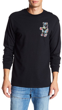 Riot Society Palms Bear Graphic Long Sleeve Shirt