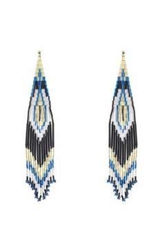 Forest of Chintz Aztec Bulls Eye Earrings