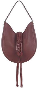 Altuzarra Ghianda Small Leather Hobo Bag