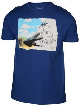 Converse Men's Chucks All Star Road Trip T-Shirt-Blue-Small