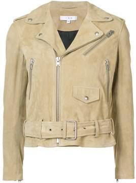 IRO zipped biker jacket