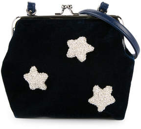 Familiar sequin star detail shoulder bag