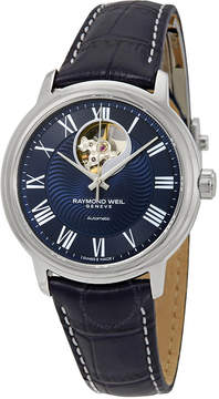 Raymond Weil Maestro Automatic Men's Leather Watch