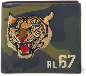 Ralph Lauren Camo Leather Wallet