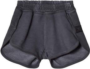 Nununu Dyed Graphite Gym Shorts