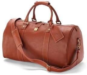 Aspinal of London Boston Bag In Tan Pebble Calf