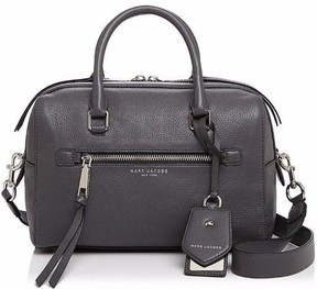 Marc Jacobs NWT Leather Recruit Bauletto Satchel Shadow Silver M0008894 - SHADOW - STYLE