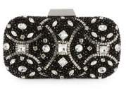 Adrianna Papell Rhinestone Convertible Clutch