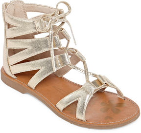 Arizona Mirth Girls Gladiator Sandals - Little Kids
