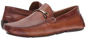 Matteo Massimo Woven Bit Mocc Men's Slip-on Dress Shoes