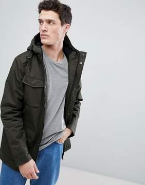 Brave Soul 4 Pocket Hooded Jacket