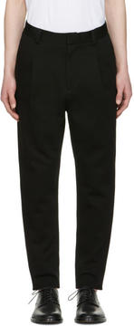Robert Geller Black Paul Trousers