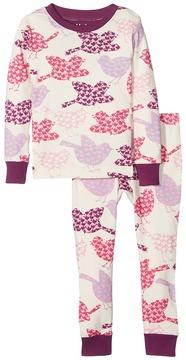 Hatley Lots of Birds PJ Set Girl's Pajama Sets