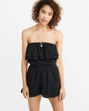 Abercrombie & Fitch Strapless Romper