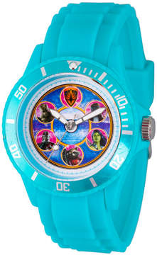 Marvel Guardian Of The Galaxy Mens Blue Strap Watch-Wma000111