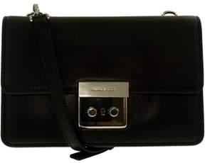 Michael Kors Sloan Small Calf Leather Crossbody - Black - 32S6SSLC4L-001 - BLACK - STYLE