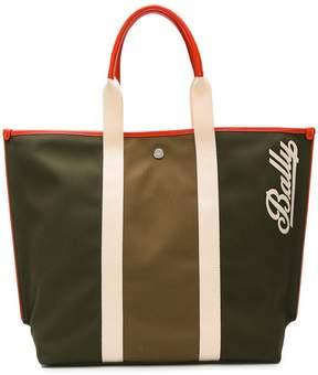 Bally logo shopper tote