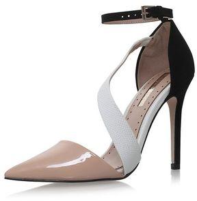 Miss KG **arielle nude high heel sandals