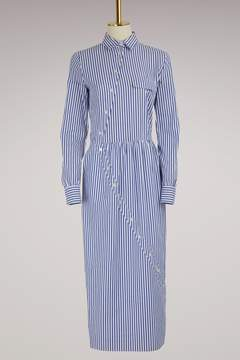 Stella Jean Striped shirt dress