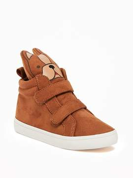 Old Navy Sueded Doggie High-Tops for Toddler Boys