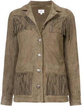 AG Jeans fringed jacket