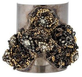 Erickson Beamon Wide Chain Cuff