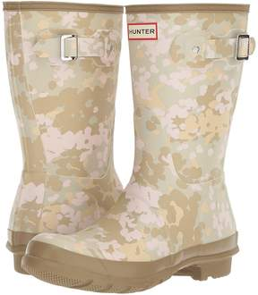 Hunter Short Flecktarn Camo Women's Rain Boots
