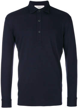 Pringle long sleeved polo shirt
