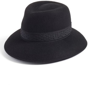 Eric Javits Women's Pop Kim Wool Felt Fedora - Black