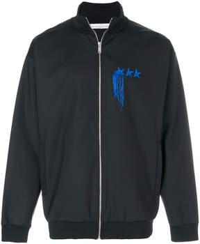 Golden Goose Deluxe Brand zipped logo bomber jacket
