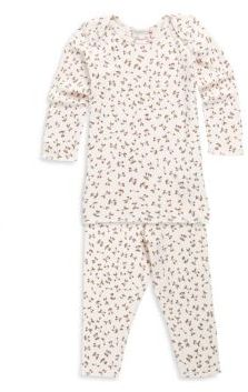 Bonpoint Baby's Two-Piece Deux Pie Cotton Pajama Set