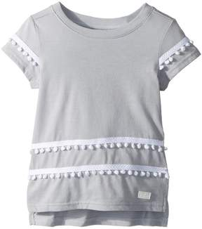 7 For All Mankind Kids High-Low Tee Girl's T Shirt