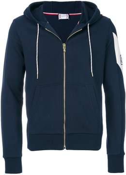 Moncler Gamme Bleu logo patch hoodie