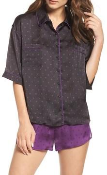 Chelsea28 Women's Short Satin Pajamas