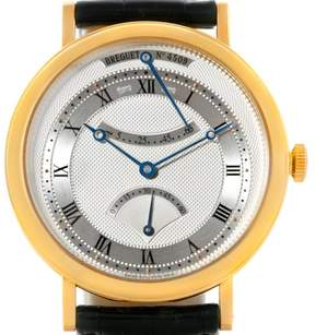 Breguet Classique 5207ba/12/9v6 18K Yellow Gold & Leather Automatic 39mm Mens Watch