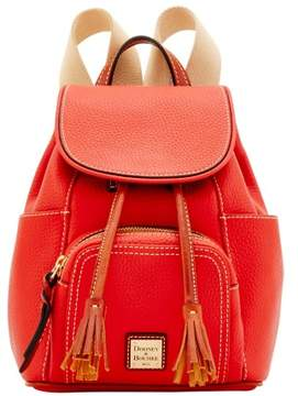 Dooney & Bourke Pebble Grain Small Murphy Backpack - SALMON - STYLE