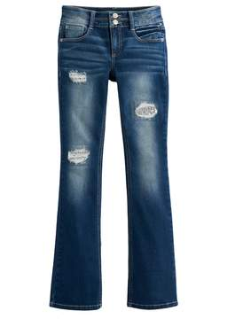 Mudd Girls 7-16 & Plus Size Destructed Bootcut Jeans