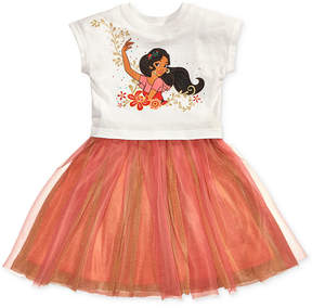Disney Disney's Princess Elena Graphic-Print Tutu Dress, Little Girls (4-6X)