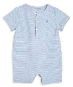 Ralph Lauren Baby's Striped Shortall