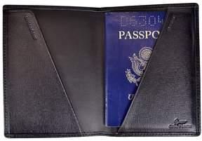 Royce Leather Saffiano Passport Jacket