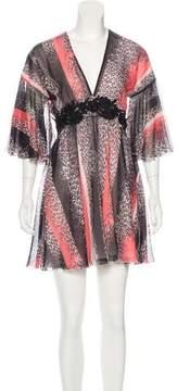 Giamba 2016 Silk Dress w/ Tags