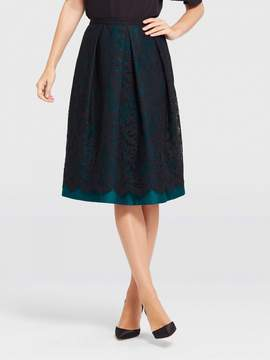 Draper James Collection Floral Row Lace Skirt