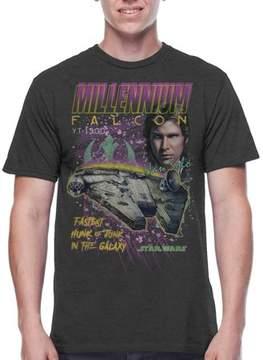 Star Wars Men's Millennium Racer Graphic Tee