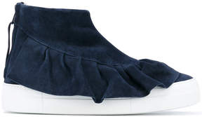Joshua Sanders Ruches ankle boots