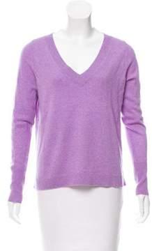 White + Warren Long Sleeve V-Neck Sweater